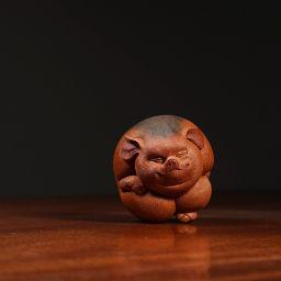 十二生肖 猪 栩栩如生 精品雕塑