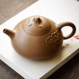 国家级高级工艺美术师刘剑飞高徒  肖莉 全手工作品 逸云 飘逸潇洒 性价比超高 段泥 320
