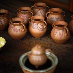 栖隐出品 齐家文化罐 可做建水|花插 玩味十足 玉成窑段泥